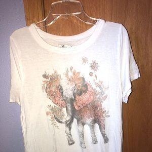Hollister Bohemian Elephant Shirt